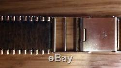 18mm Mens Solid 9ct Gold Watch Bracelet OMEGA, ROLEX, ETC
