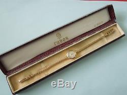 1958 Ladies 9ct Gold Rolex Tudor, Royal bracelet watch with original rare box