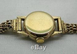 1960's Vintage Ladies 9ct Gold Omega Bracelet Watch