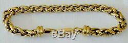 9CT SOLID GOLD TWIST LINK BRACELET LENGHT195MM, 25 Grams, LOCKDOWN KNOCKDOWN PRICE