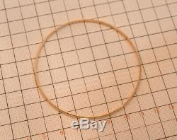 9ct 6.3g Solid Yellow Gold Bangle Solid Gold