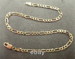 9ct Gold Anklet ANKLE BRACELET 10- 3.4 grams Fully Hallmarked Solid 9ct Gold