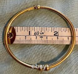 9ct Gold Bangle 4g