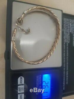 9ct Gold Bangle/bracelet 26.1g