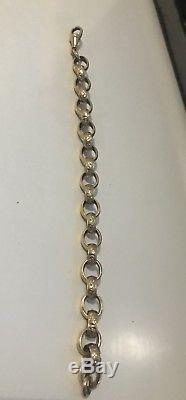 9ct Gold Belcher Bracelet 31g