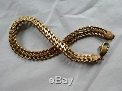 9ct Gold Bracelet 19 cm 5.1 grms