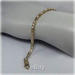9ct Gold Diamond Bracelet