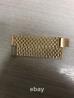 9ct Gold Gentlemans Watch Bracelet