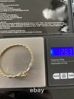 9ct Gold Gucci Style Baby Bangle