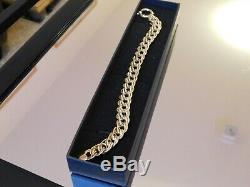 9ct Gold Heavy Fancy Link Bracelet 10.8g