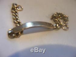 9ct Gold ID Bracelet Identity Bracelet 36 Grams Heavy