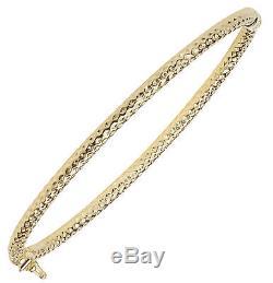 9ct Gold Ladies Bangle