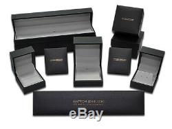 9ct Gold Men's Medium Gem-Set ID Belcher Bracelet 7.5mm -8.5 Inches (TI1 8.5)