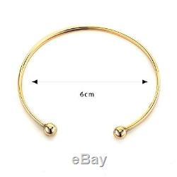 9ct Gold Torque Bangle Bracelet 2.71gr RRP £288.00 UK Hallmarked