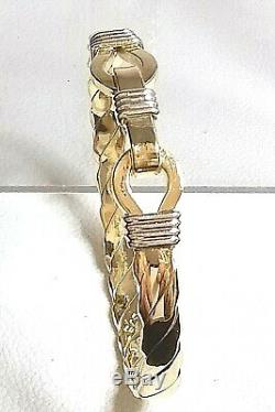 9ct Gold Traveller style Baby Bangle Real Gold (not filled or plated)