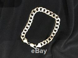 9ct Real GOLD Bracelet Ladies /Mens, heavy and Lovely condition