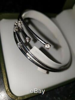 9ct White Gold Bangle fully hallmarked NOT SCRAP
