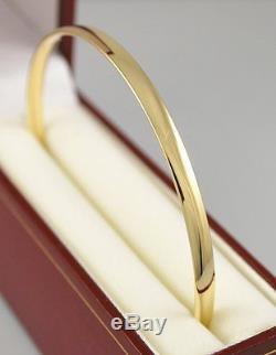 9ct Yellow Gold Bangle 13.2 Grams 70mm