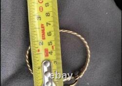 9ct Yellow Gold Gucci Bangle, Fully Hallmarked, Rare Bangle! 29.98 Gram