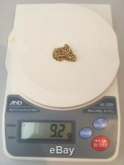 9ct solid gold bracelet. Never Worn