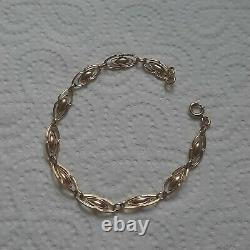9ct yellow gold bracelets