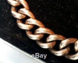 An Edwardian 9ct Rose Gold Bracelet Hallmark 1905 SBlanckensee & Son Boxed