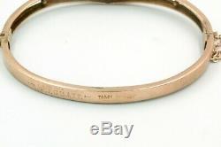Antique 9ct Gold Bracelet/bangle. Full Hallmarks 9k
