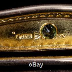 Antique Edwardian Suffragette 9ct Gold Bangle Circa 1910