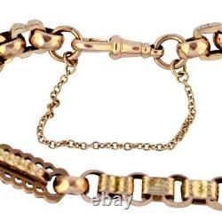 Antique Victorian 9ct Gold Bracelet