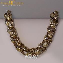 CHUNKY MEN'S 26 INCH Belcher Chain Cast in 9ct Solid Gold 442g FULLY HALLMARKED