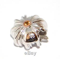 Clogau Silver & 9ct Welsh Rose Gold Milestones Bead Charm Bracelet 19cm rrp £476