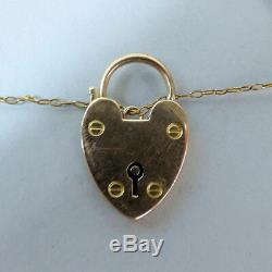 Edwardian Antique 9 Ct Rose Gold Fancy Link Gate Bracelet C. 1910 20.3 Grams