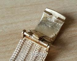 Gent's Vintage 1964 Manual Winding. 375 9ct Gold Omega + 9ct Bracelet & Box 50g