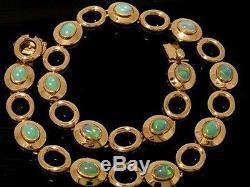 Genuine 9ct SOLID Rose Gold NATURAL Australian OPAL Line Bracelet 18cm length