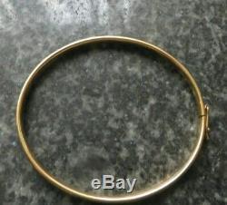 Gold 375 9ct Armspange Armreif Armband ca. 62mm Durchmesser 5.8g ca. 5mm breit 333