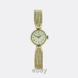 Gold Ladies Watch- Vintage Tudor Royal Manual Ladies Wristwatch 9ct Gold