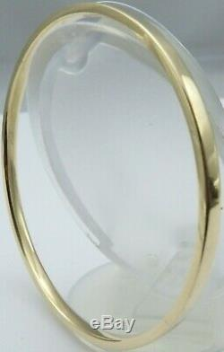 Heavy antique slave bangle 9ct Solid yellow gold hallmarked 30.1 gram 9.25 inch