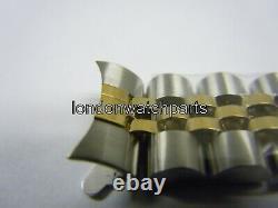 Jubilee Bracelet Gold 9ct & SS fit Rolex Lady Watch Case 26mm Lugs Width 13mm