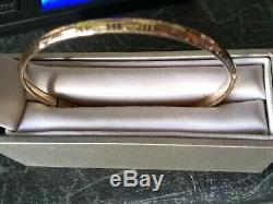 Ladies 9ct Gold Bangle. Not scrapRelisted due to non payer