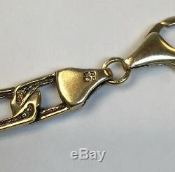 Ladies 9ct Gold Equestrian Bracelet