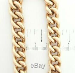 Ladies Bracelet 9ct (375,9K) Rose Gold Curb Link Chain Bracelet