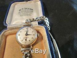 Lovely Vintage Ladies Quality 9ct Gold Accurist Watch, Chester, 1958