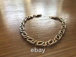 Mens 9ct Gold Bracelet