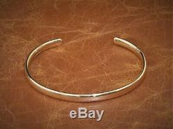 Mens Gents Oval Solid 9ct Yellow Gold Open Torque Bangle Bracelet Gold 25 Grams