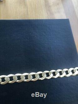 Mens Heavy 9 Ct Gold Chain And Bracelet Over 302 Grammes