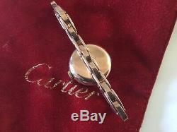 Rolex Half Hunter 9ct Solid Gold Bracelet Watch Numbered Hallmarked Working RARE