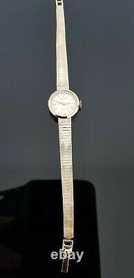 Rolex Precision Vintage 1960's 9ct Gold Mechanical Ladies Bracelet Watch