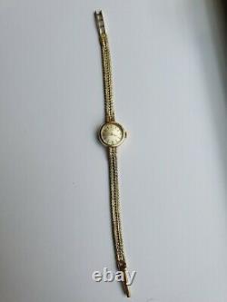 Rolex Tudor Royal Ladies 9ct Gold Watch Hallmarked London 1965