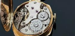 Rolex Vintage 1920's 9ct Gold Hand Wound Ladies Watch on Rolled Gold Bracelet
