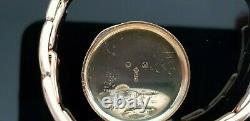 Rolex Vintage 1920's 9ct Rose Gold Hand Wound Ladies Watch on 9ct Gold Bracelet